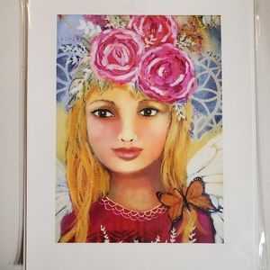 """Authentic 8x10 Archival print """"Butterfly Fairy"""""""